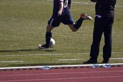 Free kick Stock Image
