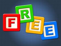 Free Kids Blocks Shows With Our Compliments And Child Stock Photography