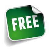 Free label green Stock Photos