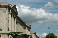 Free Library of  Philadelphia Royalty Free Stock Photography