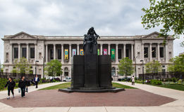 Free Library of Philadelphia Pennsylvania Stock Photography