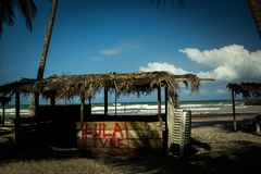 `Free Lula` - graffiti asks freedom to the former president of the Workers` Party royalty free stock photography