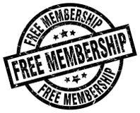 Free membership stamp. Free membership grunge vintage stamp isolated on white background. free membership. sign stock illustration