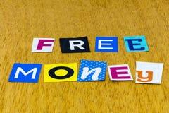 Free money giveaway business success cash wealth scam