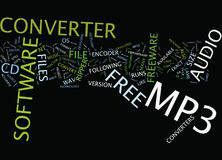 Free Mp Converter Text Background  Word Cloud Concept Royalty Free Stock Photo