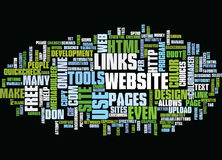 Free Online Tools To Design And Maintain Your Website Text Background  Word Cloud Concept Stock Photos