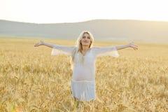 Free pregnant woman Stock Photo