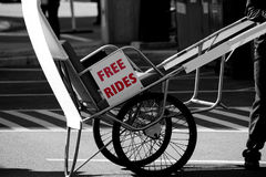 Free ride Royalty Free Stock Photography