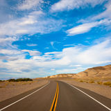 Free road on a sunny day Stock Photo