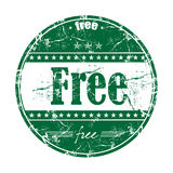 Free rubber stamp Royalty Free Stock Photography