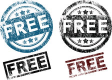 Free Rubber Stamps (Vector) Stock Photos