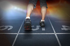 Free running. Man free running. sport concept Stock Images