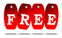 Free sales tags Stock Photography