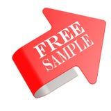 Free sample twist label Royalty Free Stock Image