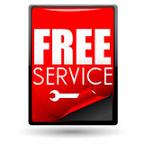 Free service Royalty Free Stock Photos