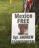 Free Sgt. Andrew Tahmooressi Royalty Free Stock Photography