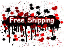Free Shipping Royalty Free Stock Images