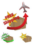 Free Shipping Stock Image