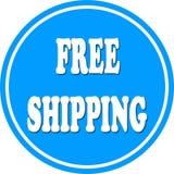 Free shipping circle Stock Images