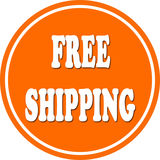 Free shipping circle Stock Photos