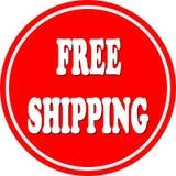 Free shipping circle Royalty Free Stock Photo