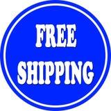 Free shipping circle Royalty Free Stock Image