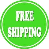 Free shipping circle Stock Image