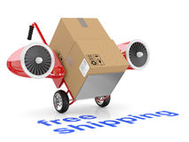 Free shipping concept Stock Image