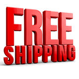 Free Shipping Royalty Free Stock Photography