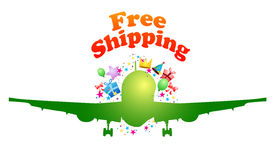 Free shipping gifts and product  Royalty Free Stock Photo