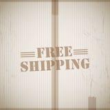 Free shipping grunge background Royalty Free Stock Photos