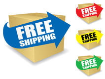 Free Shipping Icon EPS Royalty Free Stock Image