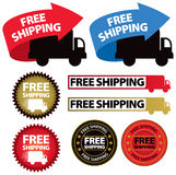 Free Shipping Icon Stock Photo