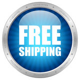Free shipping icon Stock Photography