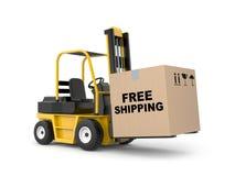 Free shipping metaphor Stock Photos