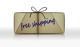 Free shipping parcel Stock Photos
