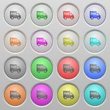 Free shipping plastic sunk buttons Royalty Free Stock Photography
