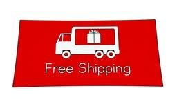 Free shipping sign Royalty Free Stock Photos