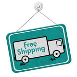 Free Shipping Sign Royalty Free Stock Photo