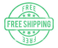 Free Shipping Stamp Stock Photos