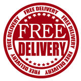 Free shipping star badge Stock Images