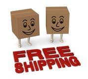 Free shipping Royalty Free Stock Photos