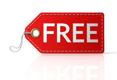 Free shopping tag 3d illustration Royalty Free Stock Image