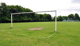 Free soccer field on lawn Royalty Free Stock Photos