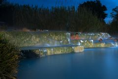 Free spa mills in Saturnia royalty free stock images