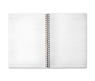 Free space of diary note paper royalty free stock image