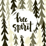 Free Spirit poster Stock Photos