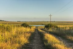 Free state dirt road Stock Photos
