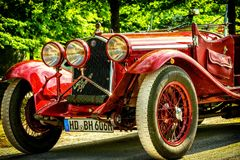 Free stock photo of car, motor vehicle, antique car, vintage car Royalty Free Stock Image