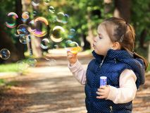 Free stock photo of child, facial expression, toddler, girl Royalty Free Stock Photos